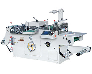 HSM-320/450 automatic adhesive label die-cutting machine
